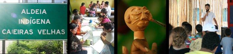 011 Oficina Teatro de Bonecos Indigena _ Aldeia Caieiras Vieiras _ Tupinikin _ fantoches _ bonecos de luva