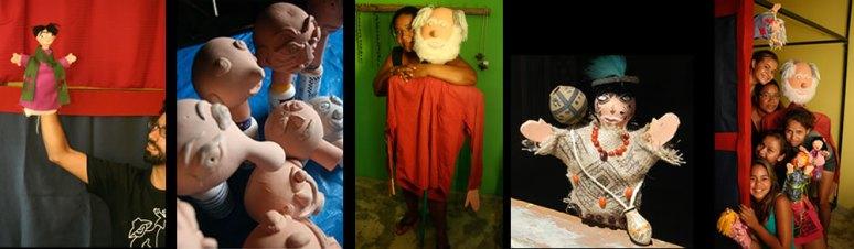 021 Oficina Teatro de Bonecos Indigena _ Aldeia Caieiras Vieiras _ Tupinikin _ fantoches _ bonecos de luva
