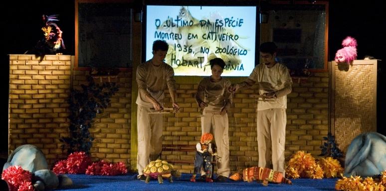espetaculo de teatro de bonecos Mania de Explicaçao 3