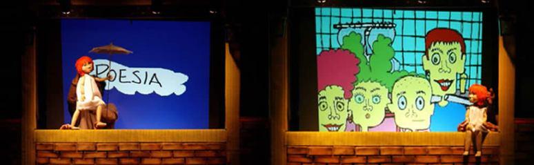 espetaculo de teatro de bonecos Mania de Explicaçao